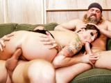 Lexi Bardot Threesome Cum Slam