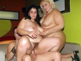Wild Chubby Threesome