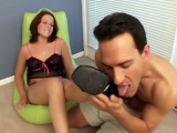 Alexis Red Hot Foot Tease