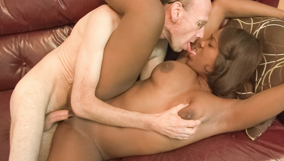Black Stud Fucks Blonde Wife